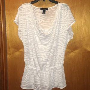 WHBM White Shirt